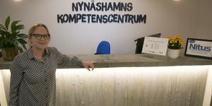Annelie Sahlin, rektor på NKC.