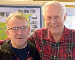 Per Hedall och Lars Rydén gläds öv er att intresset för konserten var så stort