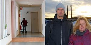 Robert Brandt och Ulrika Persson jobbar med att lösa äldrevårdsknuten i Östersunds kommun.