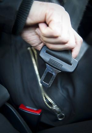 99 procent av bilisterna i Sundsvall, Timrå och Ånge använder bilbälte.