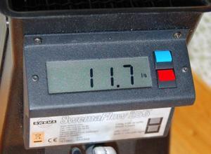 Mätaren visar hur mycket luft som kommer in i varje rum.