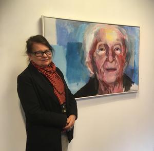 Ulla Helenius Reit och förintelseöverlevaren Hédi Fried. Foto: Max Hebert.