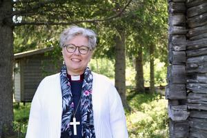Eva Nordung Byström, biskop i Härnösands stift. Foto: Maria Eddebo Persson/Härnösands stift