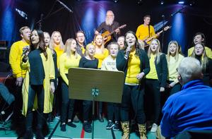 Även ungdomskören Lit é sång återkommer på hyllningskonserten i Häggenås.