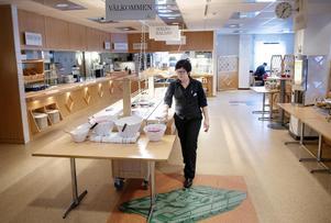 Platschefen Ann-Sofie Häreskog tyckte det var tråkigt att B-O:s restaurang stängde.