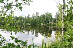 Norrsjön, strax öster om Färna i Skinnskattebergs kommun. Foto: Arkiv
