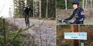 Det var cykeltävling mitt i vintern i Trönö under lördagen. Bra förutsättningar och bra uppslutning på deltagare.