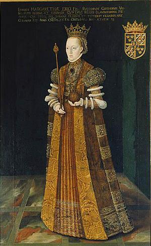 Gustav Vasas hustru, drottning Margareta Eriksdotter var trots reformationen i Sverige troende katolik under hela sitt liv,