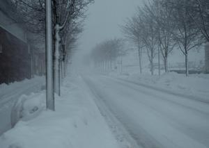 Snöovädret förra veckan blev ett hårt slag för snöröjarna i Sundsvall.