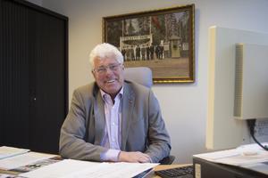 Tommy Söderblom var ordförande för kommunstyrelsen från 1992 till 1998. Nu är han ordförande i styrelserna för det kommunala bostadsbolaget Nynäshamnsbostäder och den lokala Folkets Hus-föreningen. Foto: Carina Albin/arkiv