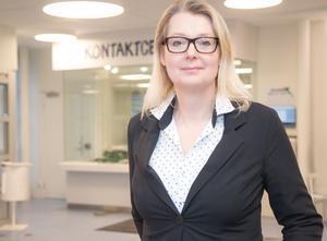 Lina Axelsson Kihlblom, förvaltningschef på barn- och utbildningsförvaltningen i Nynäshamns kommun.