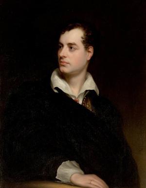 Thomas Philips porträtt av den 25-årige Lord Byron från 1813.