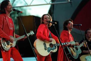 9 augusti 1995: GES på Strömvallen. Bild: Nick Blackmon.