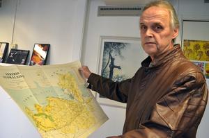 Eric Wester  har sammanställt historien kring den flyktingbåt som för 75 år sedan kom till Stocka.