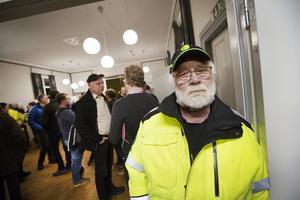 Göran Bergen bor i Stackbo och ogillar de stora ingreppen i naturen.