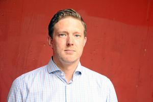 Josef Fransson (SD), riksdagsledamot från Skövde och en av politikerna från Sverigedemokraterna bakom debattartikeln.