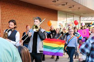 Fjolårets Pridetåg lockade betydligt fler deltagare än arrangörerna hade vågat hoppas på.