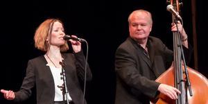 Susanne Rantatalo och Göran Eriksson i WAO. Bild: Lasse Stenman