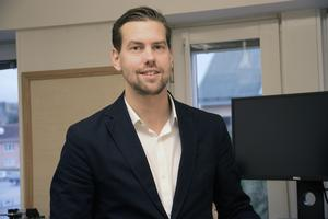 Under sin första arbetsvecka i kommunhuset i Edsbyn fick Mattias Bergström även möta miljö- och byggnämnden.