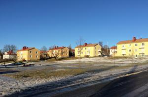 Bild ur detaljplanen för var Härnösandshus ska bygga ett nytt hus på Kristinagatan.