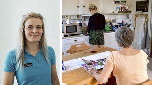 Småföretagaren Emelie Söderström bedriver ett familjeföretag inom hemtjänstsektorn. Privata aktörer får inte samma förutsättningar som kommunala hemtjänstbolag, skriver hon. Bild: Privat / Karin Diffner