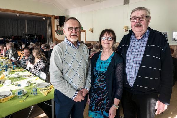 Dan Wiklund, Kristin Eriksson och Axel Thunell sitter i styrelsen i PRO Sveg. De berättar om ett uppsving inom organisationen.