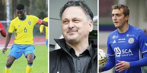Joseph Colley och Dennis Olsson finns båda tillgängliga på den fria marknaden för GIF-sportchefen Urban Hagblom.