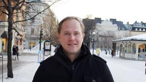 Ulrik Svensson, 46. år, handläggare, Sundsvall.