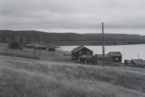 Valmåsen 1958. Byn finns inte längre kvar. Foto: TH:s arkiv