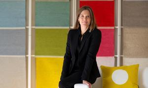 Lina Rickardsson, Pappelinas vd och formgivare. Foto: Johnny Mattson