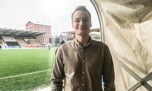 Viktor Prodell gör debut som hemmaspelare på Behrn arena. Dessutom från start. Arkivfoto