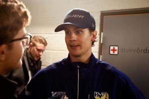 Sebastian Wännström gjorde mål i HV-förlusten.