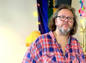 Micke Finell, turnéledare med ett spikat schema framöver. Bild: Nils Palmeby/Arkiv
