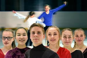 Sonja Nyberg, Lisa Mitazaki, Johan Sparr, Tyra Hansson, Frida Lindström och Sarah Feller har hjälpt de unga åkarna under deras träningar i brist på en huvudtränare.