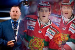 Både Michael Haga och Erlend Lesund har tagits ut till den norska landslagstruppen och 4-nationsturneringen i Gdansk den 9-11:e november. Nu stoppas den sistnämnde av en skada och sannolikt kommer även Michael Haga att spela sparsamt – eller inget alls. Bild: Montage/Bildbyrån