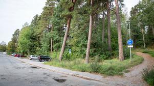 Här, vid foten av Torekällberget, planerar Telge bostäder att bygga 65 lägenheter.
