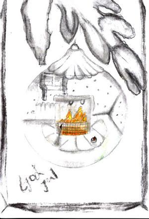 3:e pris Elissa Nord, 11 år, Sveg. Kategori 9-11 år.