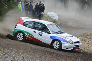 Ett race räckte för Haninges Kjell Sandberg i tävlingen i Arlanda i helgen.