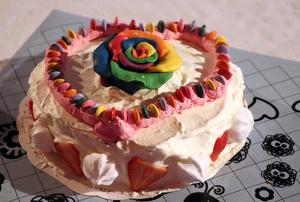 Johanna Ojalas vinnartårta.