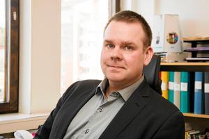 Kent Ylvesson, förvaltningschef humanistiska i Ånge. Bild: Caj Källmalm.