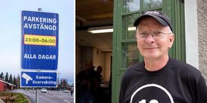 Torbjörn Norgren (PNF) har synpunkter på skyltningen kring parkering i Norberg.