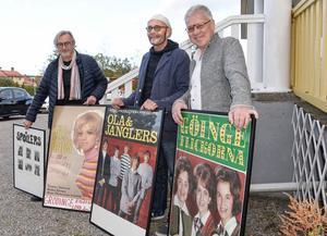 Lasse Haeggström,  Leif Jansson och Ulf Segeblad arrangerar en kväll i Kalle Nylunds anda  lördagen den 19 oktober.
