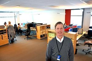 Bo Lagerqvist är chef för den nya enheten på Bolagsverket som ska    arbeta med att sätta stopp för företag som sysslar emd