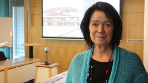 Katarina Jonsson (M) lovar att det kommer fler tomter för småhus