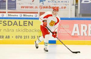 Filip Halvordsson, en av flera nya backar i Borlänge Hockey.