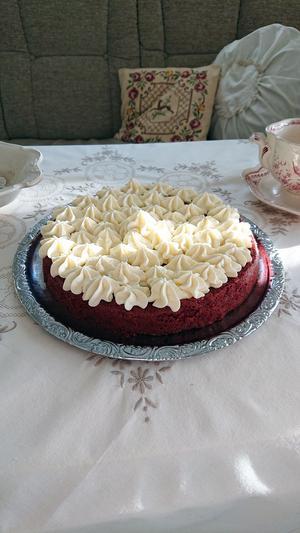 Tårta gjord av Yvonne Jansson i Gideå.