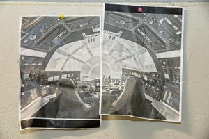 Kopior på hur det ska se ut i cockpit...