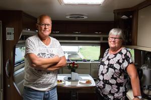 Efter flera byten har Ewa och Tommy Edhner äntligen köpt sin drömhusvagn.