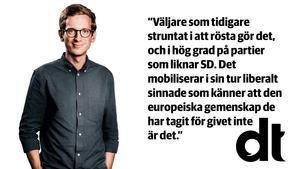 Gabriel Ehrling Perers är politisk redaktör på oberoende liberala Dalarnas Tidningar.