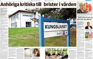 Borlänge Tidning lördag 1 september 2018.
